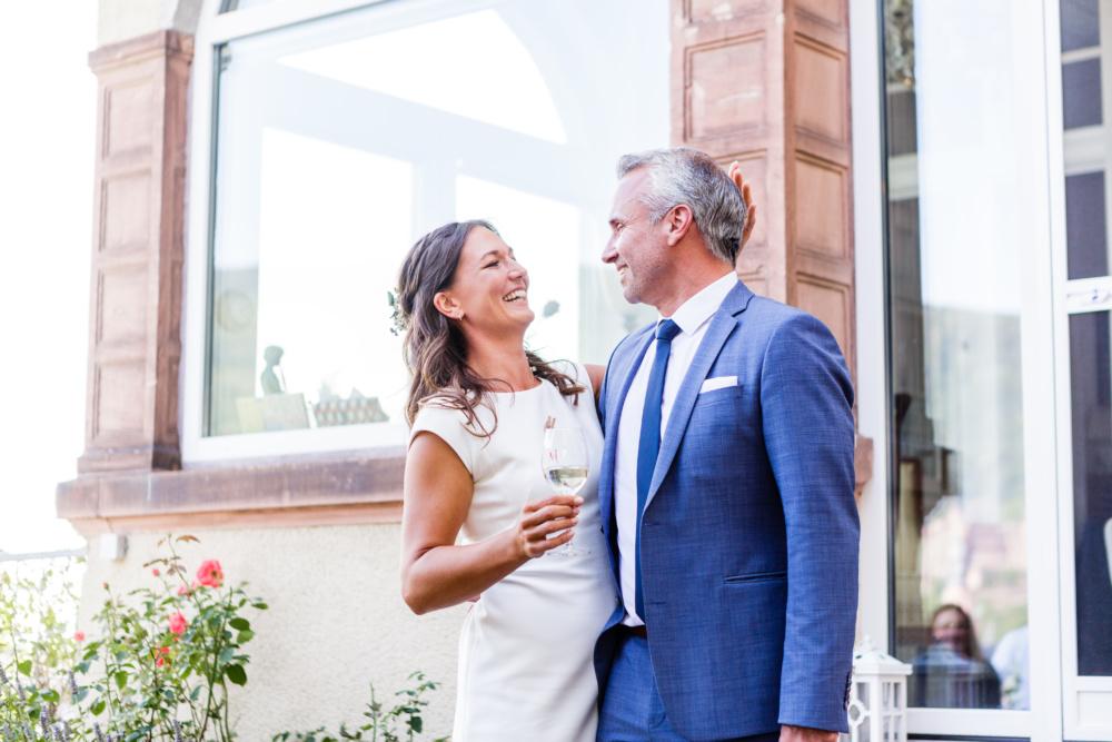 Hochzeit über den Dächern von Heidelberg